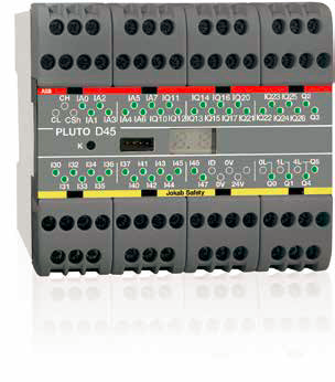 ABB Jokab Safety presents the new Pluto D45 Safety PLC